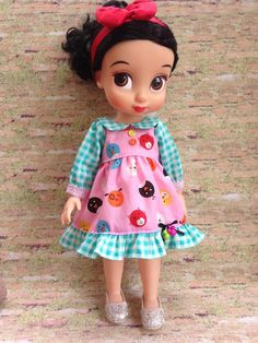 Doll's Kawaii Dress / Disney Animator Doll Snow White