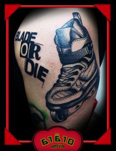 Blade or Die tat- I'm scared about dying from not voting too.