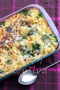 Pasta Recipes, Dinner Recipes, Cooking Recipes, Greek Recipes, Light Recipes, Food N, Food And Drink, Vegetarian Recipes, Healthy Recipes