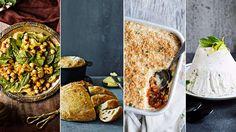 Vegaaninen pääsiäismenu Vegan Party Food, Ethnic Recipes