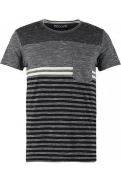 Hombre Camisetas - Esprit RAIN SLIM FIT Camiseta print medium grey