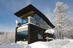 Odin House in Niseko - an international collaboration of top architects and designers = aw-inspiring.