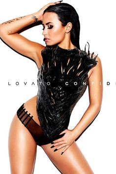 Demi Lovato looks stunning on the cover of her new album