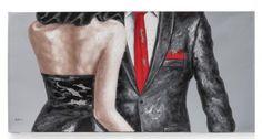 Dit sfeervolle en goed geprijsde schilderij 'Date night' van Youniq is een echte must have! De lichamen van de man en vrouw zijn met verdikkingen geschilderd waardoor je een beetje hoogteverschil voelt.