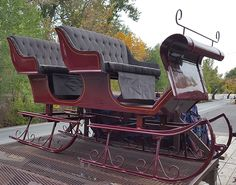 Horse Drawn Vehicles - Horse Drawn Wagons, Sleighs, Carriages, Hearses, Stagecoaches For Sale Horse Wagon, Horse Drawn Wagon, Sleigh Rides, Covered Wagon, Horse Carriage, Santa Sleigh, Sled, Arrow Keys, Close Image