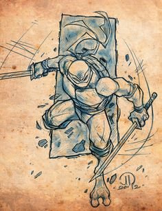 TMNT Leo by JoeyVazquez on deviantART