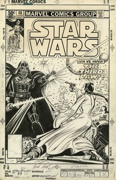 Marvel Comics of the 1980s: 1981 - Anatomy of a cover - Star Wars #48