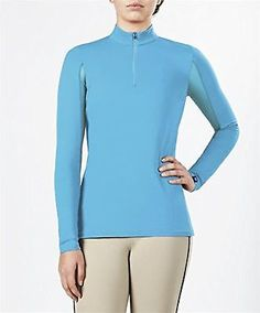Shirts and Tops 183366: Irideon Cooldown Icefil Long Sleeve Jersey Peacock Large -> BUY IT NOW ONLY: $68.99 on eBay!