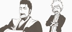 Isshin & Ichigo; like father, like son (Bleach)
