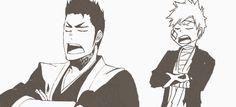 Isshin & Ichigo; like father, like son (Bleach)