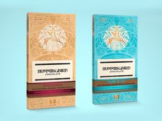 Pitched packaging concept for a chocolate company based out of Canada looking to evolve their current packaging.   The ornate plant pattern would be printed on a recyclable paper, with spots of nat...