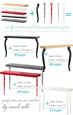 diy console table from IKEA (shelf + desk legs) is creative inspiration for us. Get more photo about diy - diy console table from IKEA (shelf + desk legs) is creative inspiration for us. Get more photo about - Ikea Shelves, Shelf Desk, Console Shelf, Lack Shelf, Ikea Shelf Hack, Shelf Wall, Ikea Dekor, Desk Legs, Table Legs