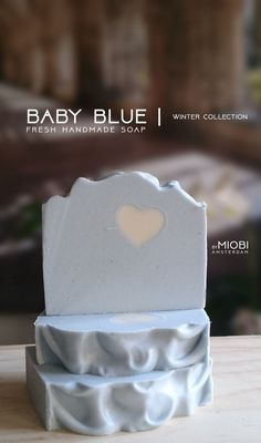 Baby Blue | soap collection. Soon on bymiobi.etsy.com