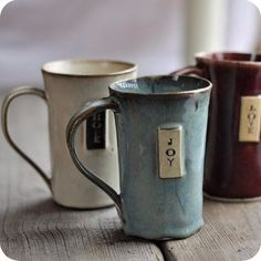 JustPotters – Vancouver Pottery Studio by JustWork Pottery Mugs, Ceramic Pottery, Ceramic Cups, Ceramic Art, Clay Mugs, Pottery Classes, Pottery Designs, Pottery Ideas, Ceramics Projects