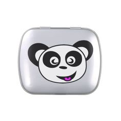 Jelly Belly Tin. Panda. Jelly Belly Tin - kitchen gifts diy ideas decor special unique individual customized
