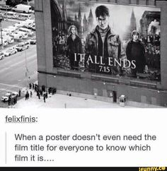 Harry Potter isn't just a film franchise….its way of life.