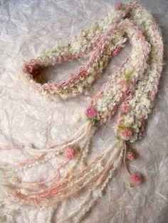 knit scarf soft handknit artyarn scarf the by beautifulplace