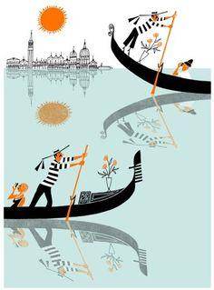 Venezia- illustration