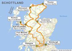 Linda saved to LindaReiseroute für 14 Tage Schottland - Scotland Travel Guide, Scotland Vacation, Inverness, Glasgow, Scottish Highlands Tour, Scotland Tourist Attractions, Highland Tours, North Shore Beaches, Places In Scotland