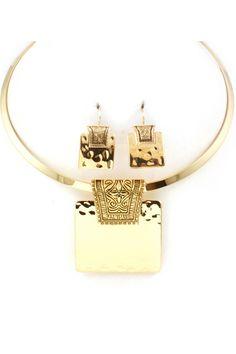 Niva Necklace on Emma Stine Limited
