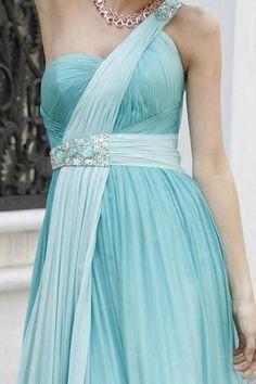 Blue Bridesmaid dresses  Tiffany Blue www.finditforweddings.com