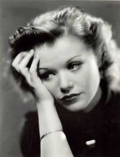 Simone Simon(1910-2005) - French film actress who began her career in 1931, starring French, as well as American films