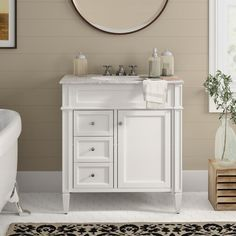 A good bathroom vanity should have storage space to conceal necessities, plumbing, and sleek countertops to make getting ready even easier. So wheres should you buy your bathroom vanity? Best Bathroom Vanities, Single Bathroom Vanity, Bathroom Faucets, Small Bathroom, Master Bathroom, Bathroom Ideas, Basement Bathroom, Bedroom Small, Shower Ideas