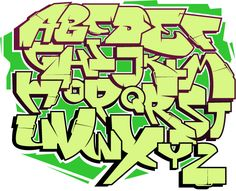 How to Draw Graffiti (with Pictures) - wikiHow