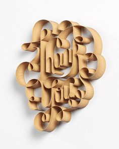 50 Amazing 3D Typography for Inspiration