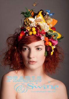 Headress on Pinterest | Headdress, Carmen Miranda and Headpieces