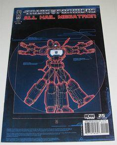 All Hail #Megatron #15 // Cover B Perceptor IDW- All #Comics Ship Free in USA