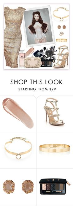 """""""Standard Features 100"""" by antoniasalvato ❤ liked on Polyvore featuring NARS Cosmetics, Valentino, Alexis Bittar, Chanel, Jules Smith, Christian Dior, H&M and Bloomingdale's"""