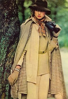 Secret Agent tweed, from a 1974 Vogue
