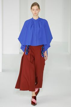 See the complete Delpozo Fall 2017 Ready-to-Wear collection.
