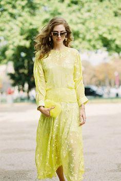 Vanessa Jackman: Paris Fashion Week SS 2015....Chiara