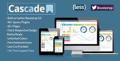 Review Cascade Flat Responsive Bootstrap Admin TemplateWe provide you all shopping site and all informations in our go to store link. You will see low prices on
