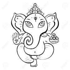 black and white hindu images - - Yahoo Image Search Results Arte Ganesha, Lotus Drawing, Ganesh Tattoo, Ganesha Drawing, Baby Ganesha, Lord Ganesha, Baby Buddha, Mandala Elephant, Henna