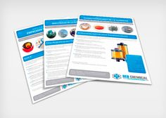 SEO CHEMICAL - Diseño de fichas de producto SEO CHEMICAL - Product paper design