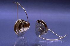 Earrings by Chris Darway