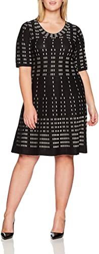 The perfect Gabby Skye Women's Plus Size Elbow Sleeved Grid Print Sweater Dress plus size sweater dress. ($63.04) findtopgoods from top store Long Knit Cardigan, Drape Cardigan, Cardigan Sweaters For Women, Plus Size Sweater Dress, Plus Size Sweaters, Leopard Dress, Plus Size Casual, Hoodie Dress, Color Block Sweater