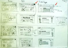 Close Photoshop and Grab a Pencil: The Lost Art of Thumbnail Sketches by designshack.net - http://designshack.net/articles/inspiration/close-photoshop-and-grab-a-pencil-the-lost-art-of-thumbnail-sketches/