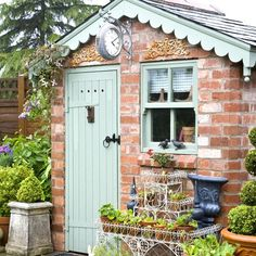 From Hansel and Gretel homes to whimsical Wendy houses, here are 10 super sheds to swoon over