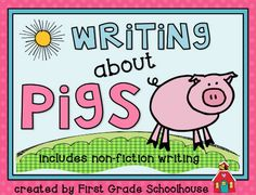 Classroom Freebies Too: Writing About Pigs