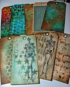 inkypinkycraft: inky fun and finding my mojo with Creative Chemistry 102 #2; Oct 2013