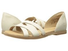 Timberland Caswell Closed Back Sandal Off White Antique - 6pm.com