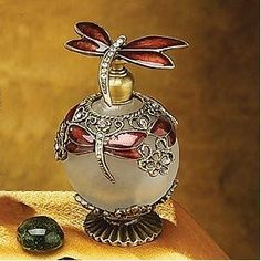 Dragonfly Jewel Perfume Bottle