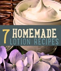 7 DIY Homemade Lotion Recipes You Must Try | Here is our straightforward recipe for making a lotion at home. DIY Lotions and Homemade Bath, Body and DIY Beauty Products. Enjoy this tutorial and smell great with any type of extract you like!