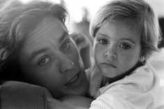 Alain Delon et son fils Anthony © Photo sous Copyright