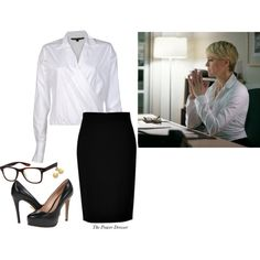 """""""Claire Underwood"""" by thepowerdresser on Polyvore"""