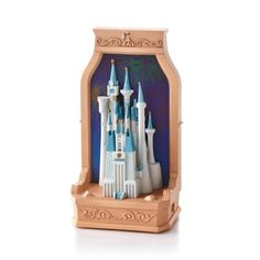 The sights and sounds will reconnect you with the magic of Walt Disney World's Cinderella Castle!   Christmas Keepsake Ornament | Hallmark 2013